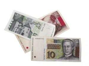 Oficiální měnou v celém chorvatsku je chorvatská kuna hrk